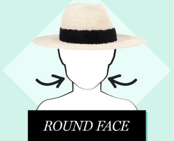 lady round face